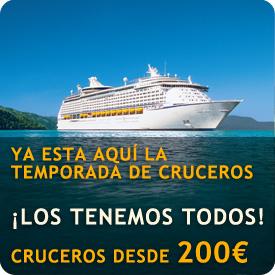 Ofertas de cruceros - Cruceros desde 200€